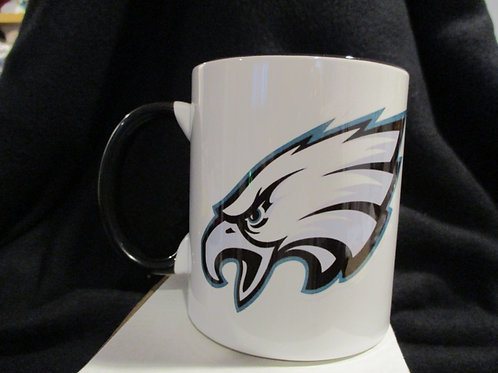 #636 Eagles logo mug
