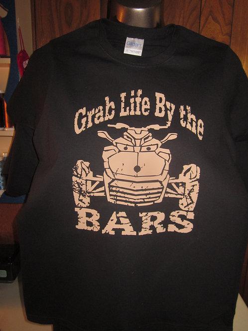 #75 Grab life by the Bars/bike shirt