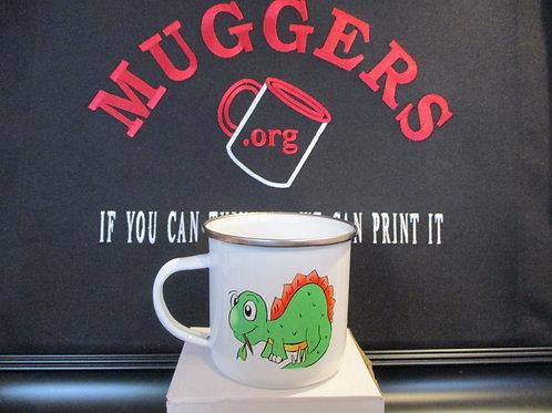 #915 dinosaures tin mug