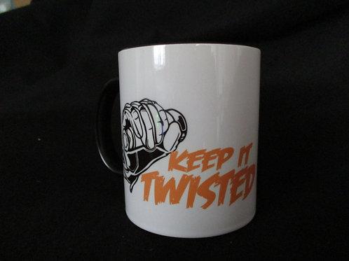 #264 keep it twisted mug