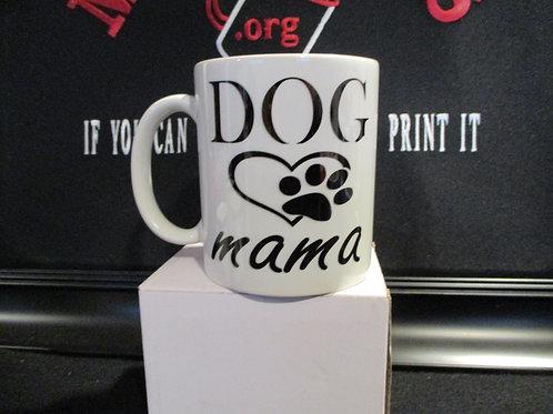 #1025 Dog mama mug