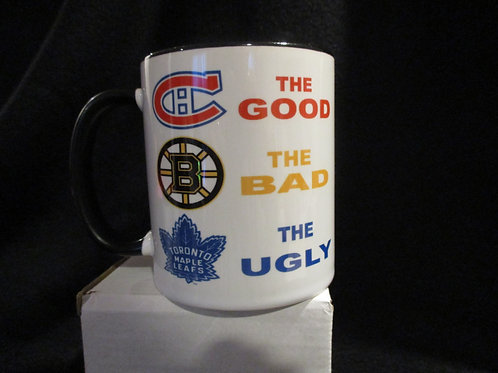 #619 The good the bad the ugly mug