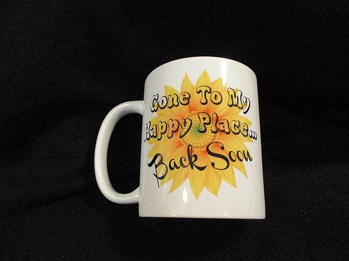#700 gone to my happy place mug