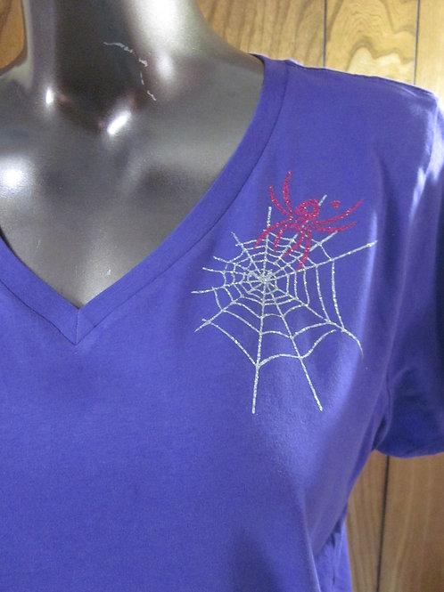 #71 shoulder web/spider sparkle