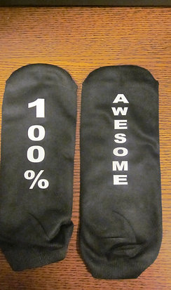 #2 100% awesome sock