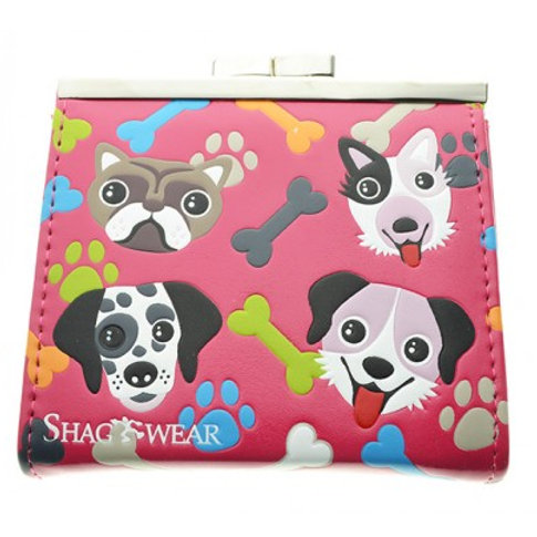 #603 puppy coin purse