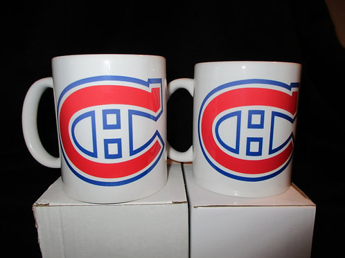#635 Montreal Canadians logo mug