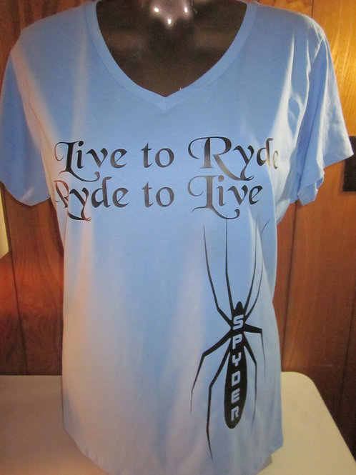 #53 Live to Ryde shirts
