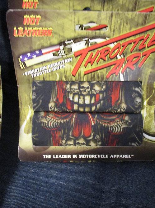 Throttle Grips skulls