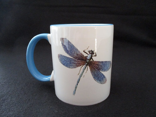 #23 dragonfly mug