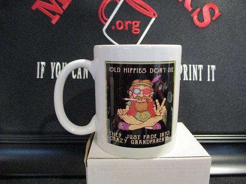 #1004 Old Hippies mug