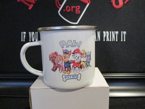 #926 Paw patrol tin mug 2