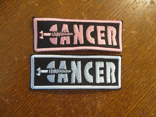 #34 screw cancer patch