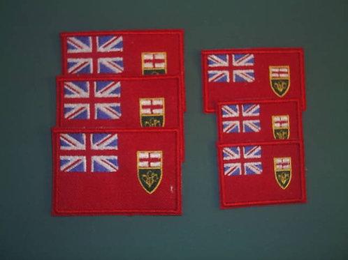 """Ontario Patch 1.5 x 3"""""""