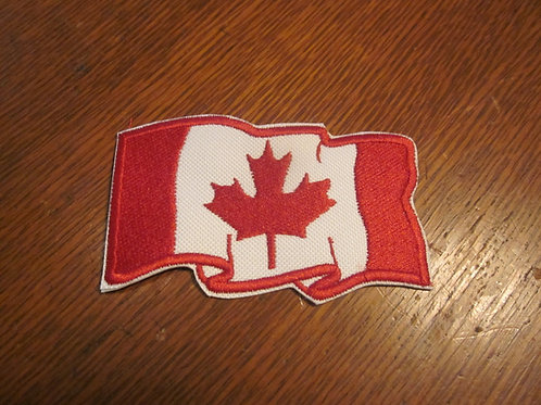 Cdn waving flag  2 x 3""