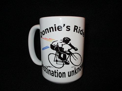 #55 Destination unknown bike mug