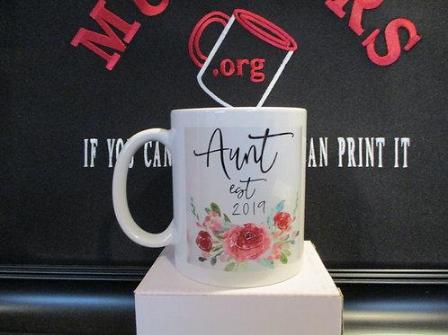 #1021 Aunt Est. mug