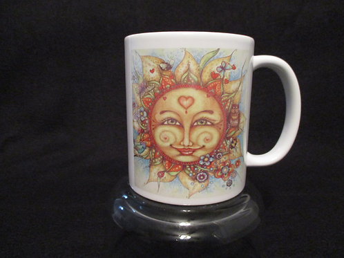 #103 the sun sees your body sun mug