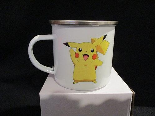 #1033 Pokemon tin mug