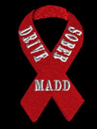 madd drive sober ribbon