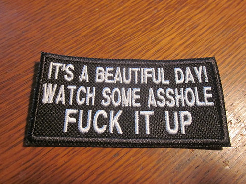 ITS A BEAUTIFUL DAY ..WATCH SOME.... PATCH