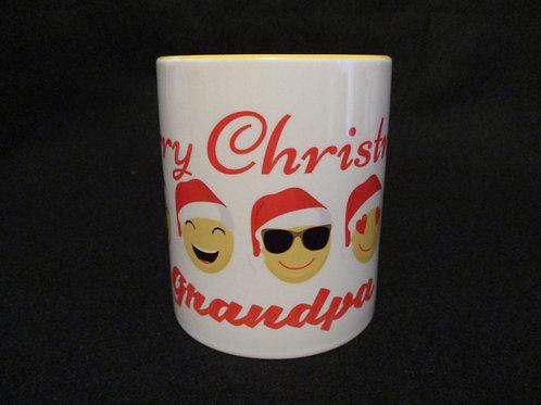 #49 Merry Christmas Grandpa mug