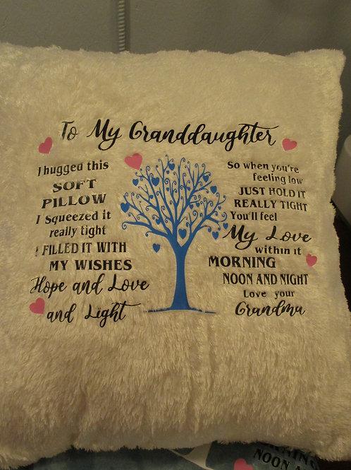 #13 Granddaughter Pillow