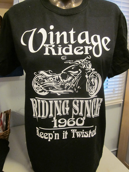 #93 Vintage rider shirt