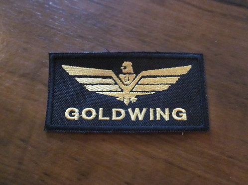 #2 Goldwing  patch