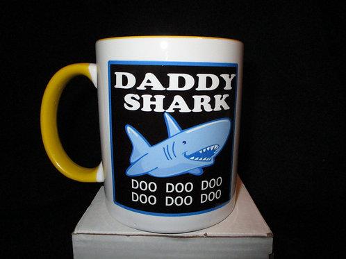 #907 Daddy Shark mug