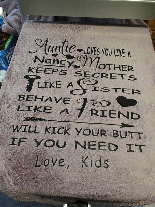 #5 Auntie blanket