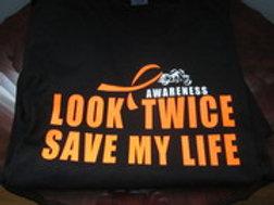 LOOK TWICE SAVE MY LIFE SHIRT