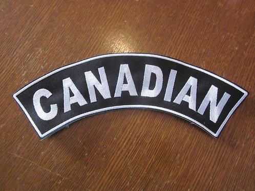 "Canada Rocker  3 x 9"""