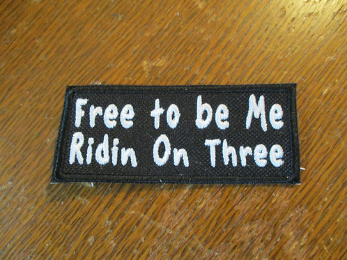 Free to be me on Three patch
