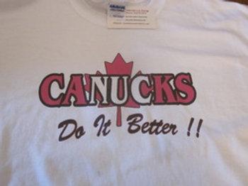CANUCKS DO IT BETTER SHIRT