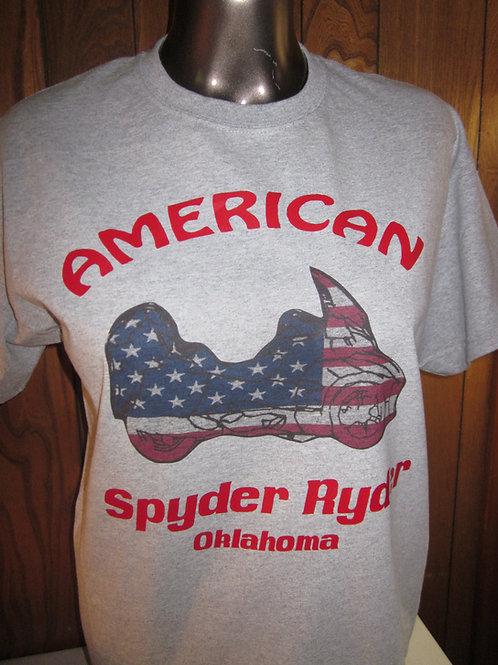 #23 American Flag RT spyder ryder shirts