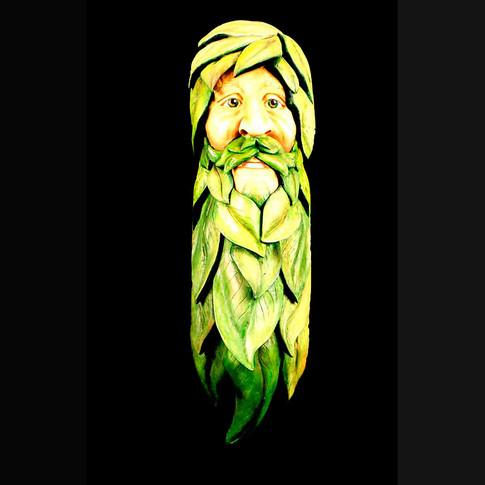 Green Man by Carole Jean Boyd