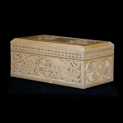 Chip Carved Box by Jim Nelson