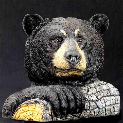 Bear Bust by Ewin Jenkins