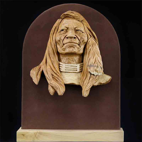 Fish Hawk Indian Wall Hanging by Jay Brasher