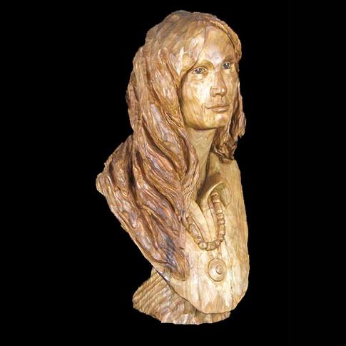 Native American Woman by Bob Zenoble