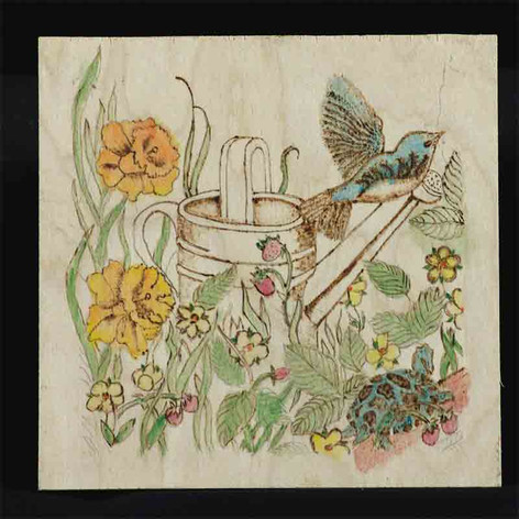 Spring Has Sprung by Sandra Horn