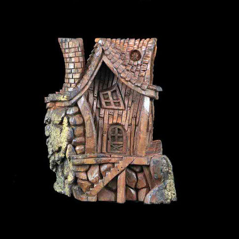 The Face in the Village House by Jose Martin