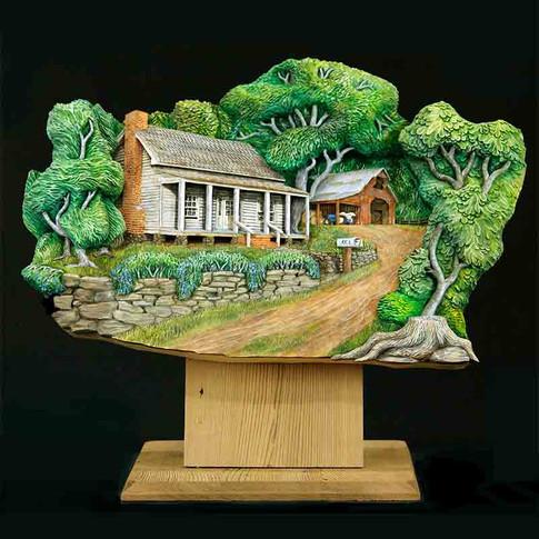 Farmhouse Scene by Dylan Goodson