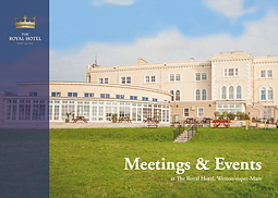 Meetings and Events at The Royal Hotel
