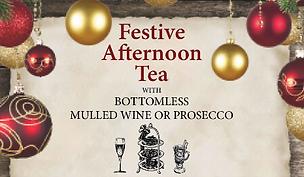 Bottomless Festive Afternoon Tea