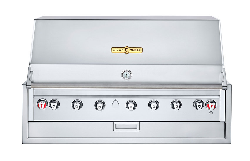 """48"""" Infinite Series Built In Single Dome Grill"""