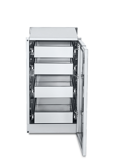 Infinite Series Cabinet Module with 4 Single Drawers