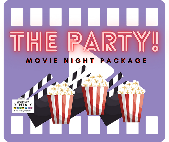 Movie Night Package - The Party