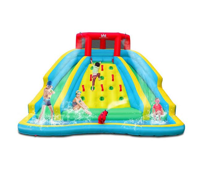 Double Slide Water Park - Water Slide